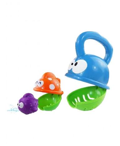 Игрушка для ванны Baby mix пластиковая Рыбки