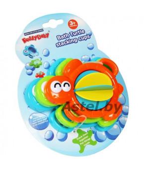 Игрушка для ванны Baby mix пластиковая Черепашка