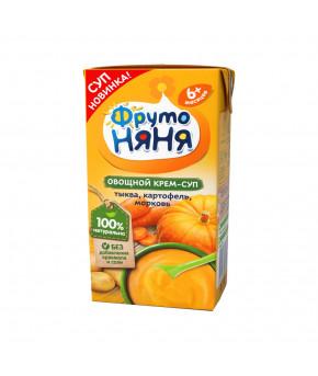 Крем-суп Фруто няня овощной тыква картофель морковь, 200мл