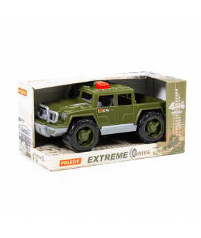 Автомобиль Полесье Защитник военный патрульный РБ (в коробке)