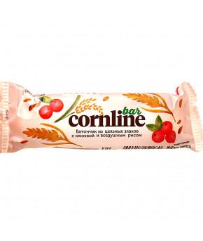 Батончик злаковый Cornline зерновой с клюквой 30г