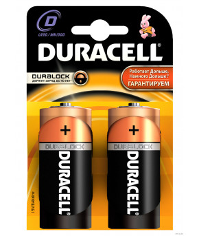 Батарейки Duracell D-LR20 MN1300 2шт