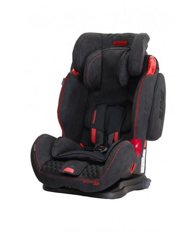 Автокресло Coletto Sportivo Isofix Black New (9-36кг)