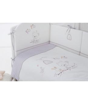 Комплект в кроватку Perina Pio Pio 4 пр.