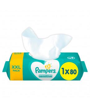 Салфетки влажные Pampers Sensitive 80 шт