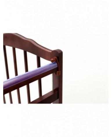 Кровать детская Bambini Classic 09, темный орех