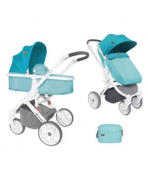 Детская коляска 2 в 1 Lorelli Luna Aquamarine
