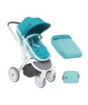 """Детская коляска """"Lorelli"""" 2в1 Luna Aquamarine"""