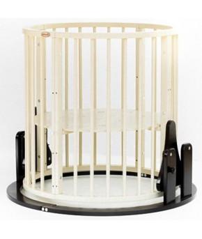 Кровать трансформер 7в1 Bambini М 14, маятник, венге/слоновая кость