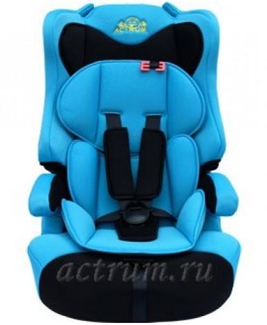 Автокресло Actrum LB-513 черно-синий (9-36кг)
