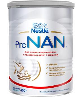 Смесь Nestle PreNAN молочная 400г