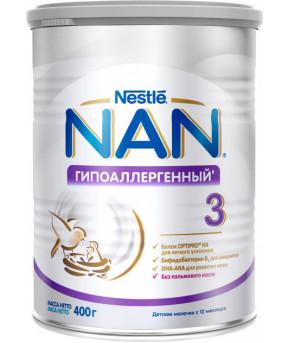 Смесь Nestle NAN 3 гипоаллергенный 400г