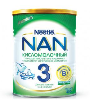 Смесь Nestle NAN 3 кисломолочный 400г