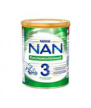 """Смесь """"Nestle"""" NAN 3 кисломолочный напиток, 400гр"""