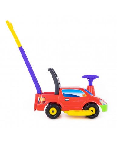 Автомобиль-каталка Polesie Пикап, с ручкой - №2, красный
