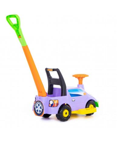 Автомобиль-каталка Polesie Пикап, с ручкой - №2, сиреневый