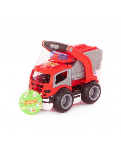 Автомобиль пожарная Полесье ГрипТрак в сеточке