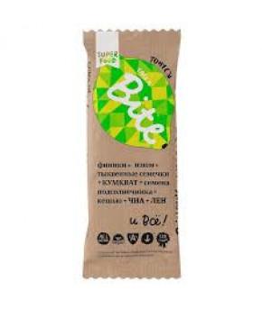 Батончик Bite фруктово-ореховый Кумкват-Лимон 45г
