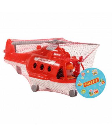 Вертолёт Полесье Альфа пожарный (в сеточке)