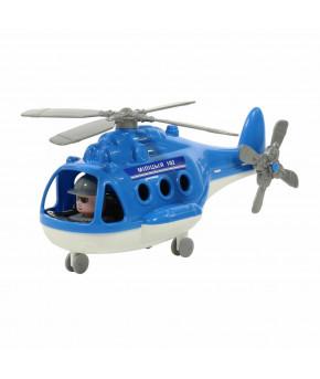 Вертолёт полицейский Полесье Альфа милиция (в сеточке)