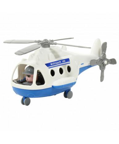 Вертолёт Полесье Альфа милиция (в сеточке) (РБ)