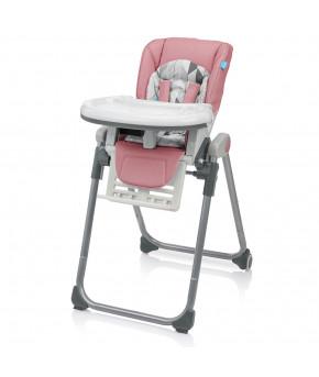 Стульчик для кормления Baby Design LOLLY PASTELL 08 rose garden pastel