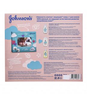 Набор Johnson`s Baby Детский шампунь и пенка для мытья и купания Нежность хлопка 300 м