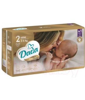 Подгузники DaDa Extra Care 2 MINI 3-6кг 43шт