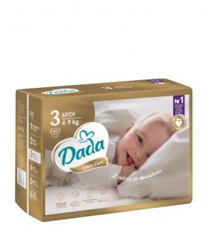 Подгузники DaDa Extra Care 3 MIDI 4-9кг 40шт