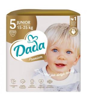 Подгузники DaDa Extra Care 5 JUNIOR 15-25кг 28шт
