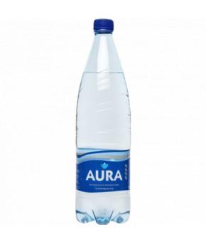 Вода Aura питьевая газированная 0,5л
