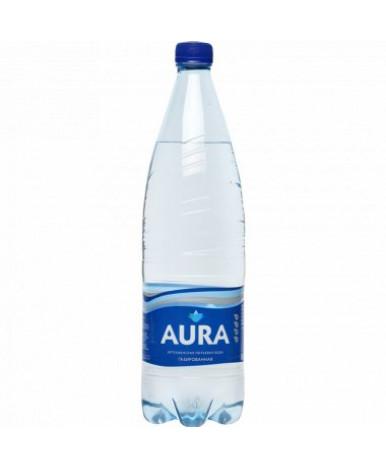 Вода Аура питьевая газированная 0,5л