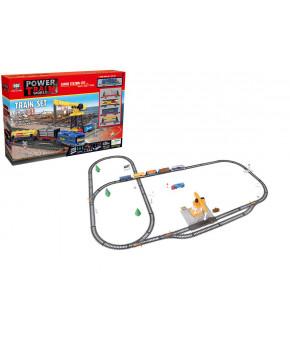 Набор игровой Железная дорога с подъёмным краном