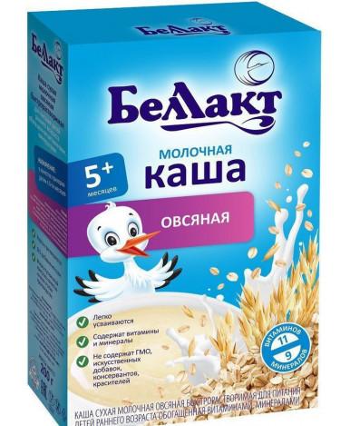 Каша Беллакт овсяная молочная 200г