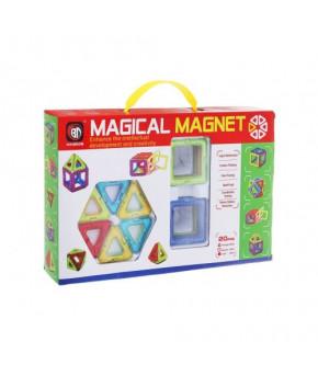 Конструктор магнитный Magical Magnet 701E 20 деталей