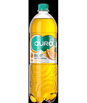 Напиток AURA с соком Апельсин 0,5л
