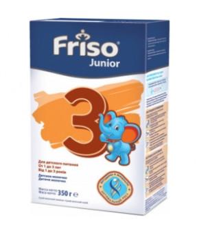 """Смесь """"Friso"""" Junior 3 new молочная, 350гр"""