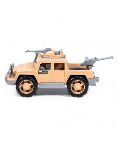 Автомобиль-пикап Полесье Защитник-Сафари с 2-мя пулемётами военный