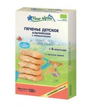 Печенье Fleur Alpine Альпийское с пребиотиками 150г
