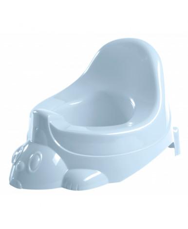 Горшок-игрушка Пластишка 330х270х210 мм светло-голубой