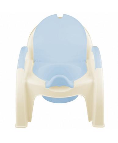 Горшок-стульчик Пластишка светло-голубой