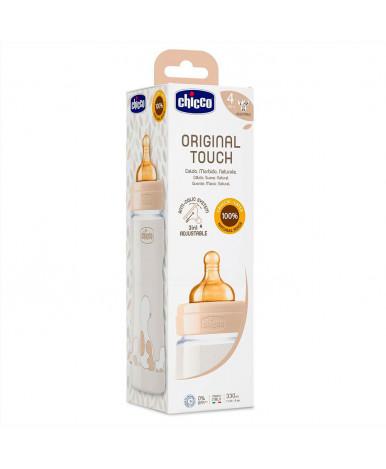 Бутылочка Chicco Original Touch Uni с латексной соской 4+ 330мл