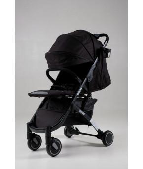 Прогулочная  коляска BabyZz D200 черная на черной раме