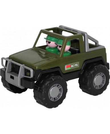 Автомобиль джип Полесье военный