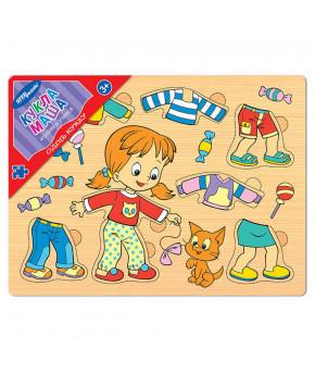 Развивающая игрушка Одень куклу Кукла Маша