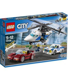 Конструктор Lego City Стремительная погоня