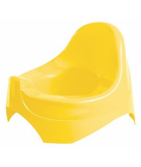 Горшок Пластишка 280x270x210 мм желтый