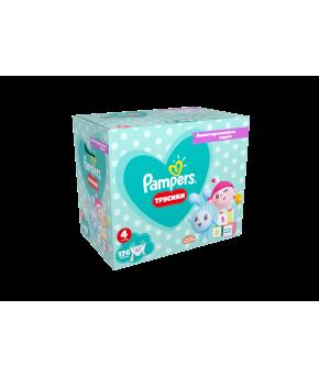 Подгузники-трусики Pampers Pants Малышарики 4 (9-15 кг) 176шт (2 части, цена за  88шт)