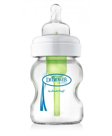 """Бутылочка """"Dr.Brown's"""" стекло, с широким горлышком, 150 мл"""