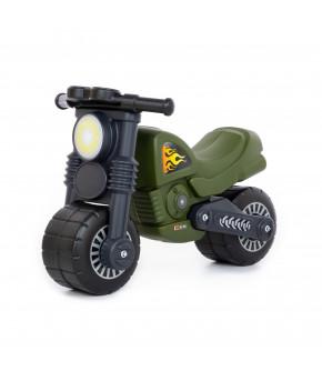 Мотоцикл-каталка Полесье Моторбайк военный